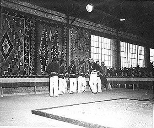 Fort Wingate ceremonie guerre