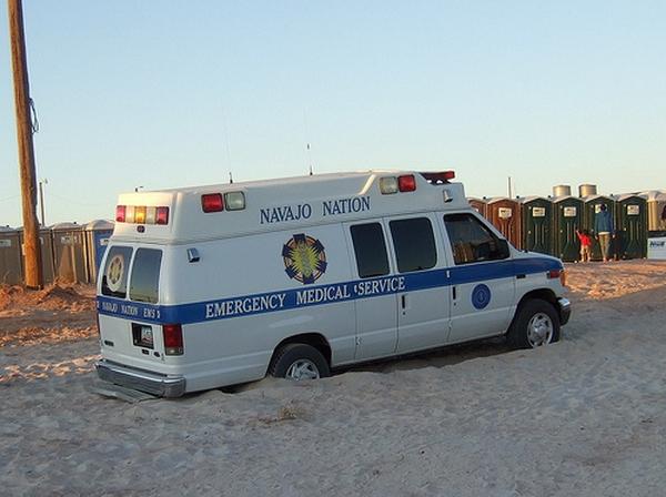 Navajo ambulance