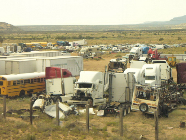 Navajo trash