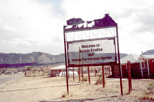 Navajo Studies and Navajo Curriculum Center, Rough Rock, 2006, photographié par Nausica Zaballos.