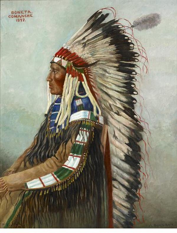 Boneta, Comanche, 1897.