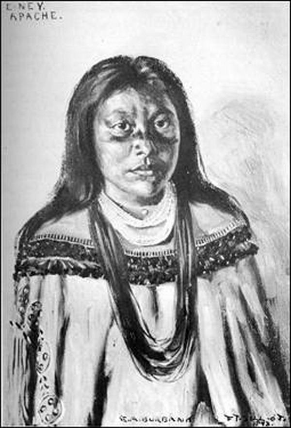 E-Ney, Apache, 1898.