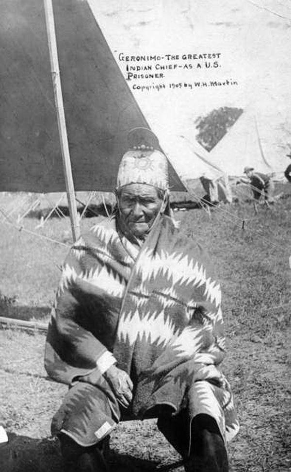 Geronimo fait prisonnier...