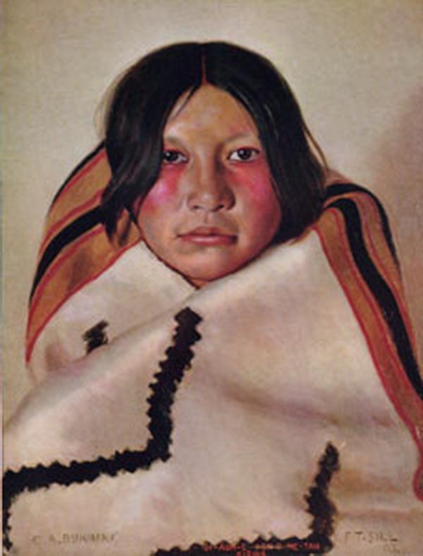 Gi-au-me, Kiowa, 1908.