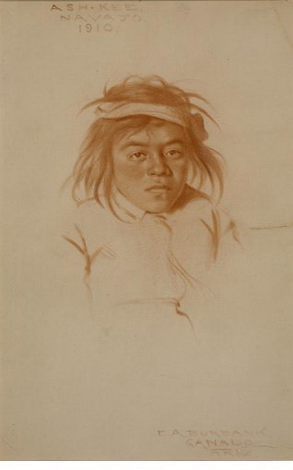 Ash-kee, Navajo boy, Ganado, 1910.