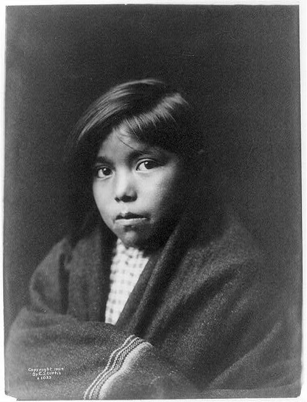 Navajo girl, 1904.