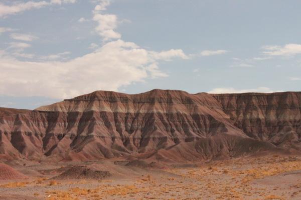 Painted Desert, été 2011.© Nausica Zaballos.