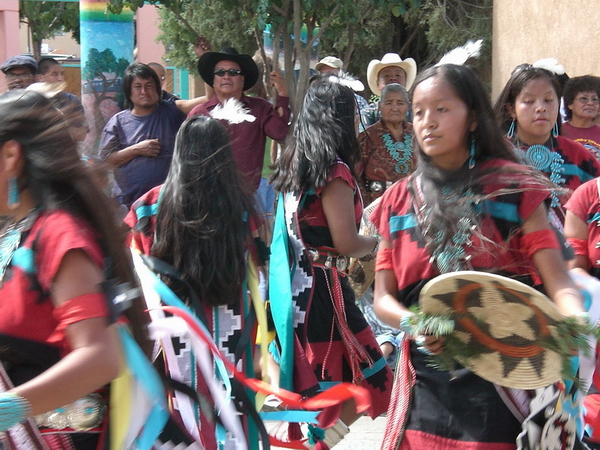 Danse Pueblo, Gallup, Intertribal Ceremonial, 2006.