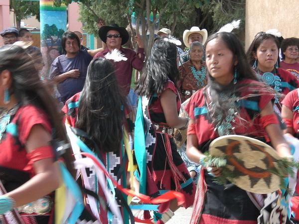 Danse Pueblo, Gallup, Intertribal Ceremonial, 2006.
