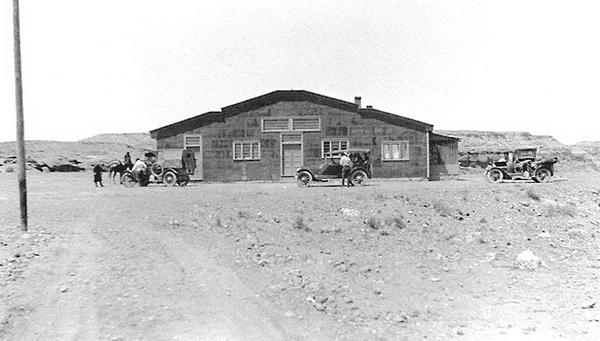 Cameron Trading Post en 1920...
