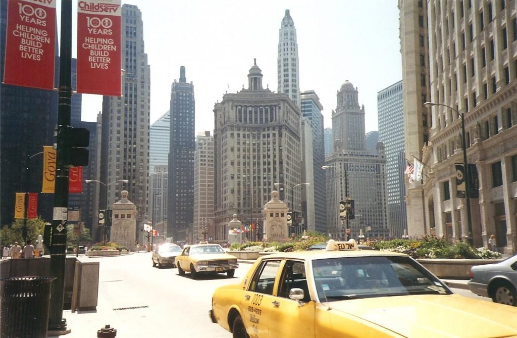 Chicago, été 1994, © Nausica Zaballos-Dey
