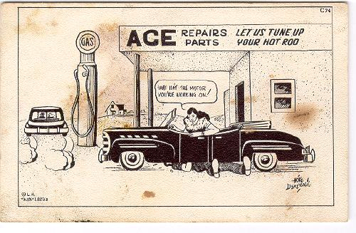 humor-dude-larsen-card-man-fixes-womans-car-a-s-hoke-denetsosie-1949-500x327