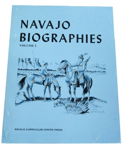Navajo Biographies, de Virginia Hoffman