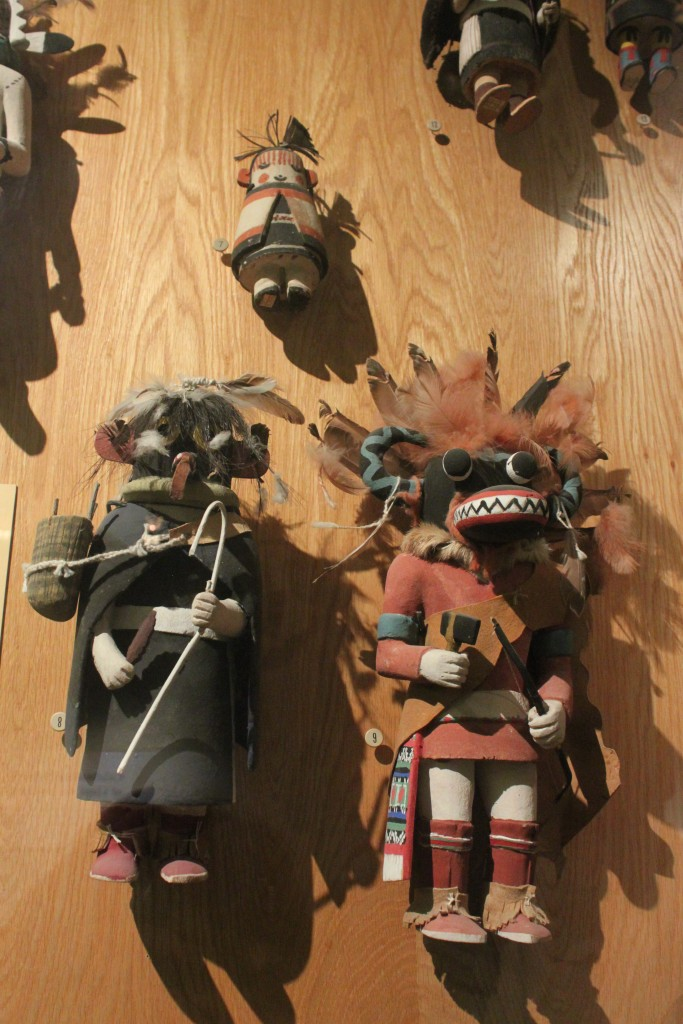 Kachinas de la collection du Museum of Northern Arizona