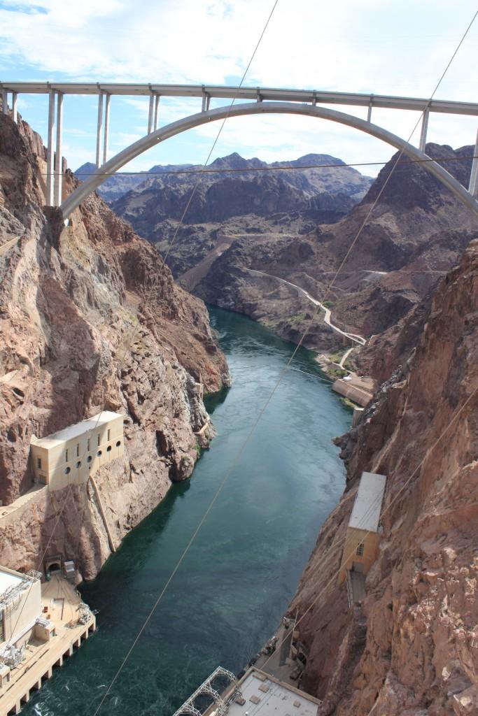 De l'autre côté du Hoover Dam...  © Nausica Zaballos-Dey