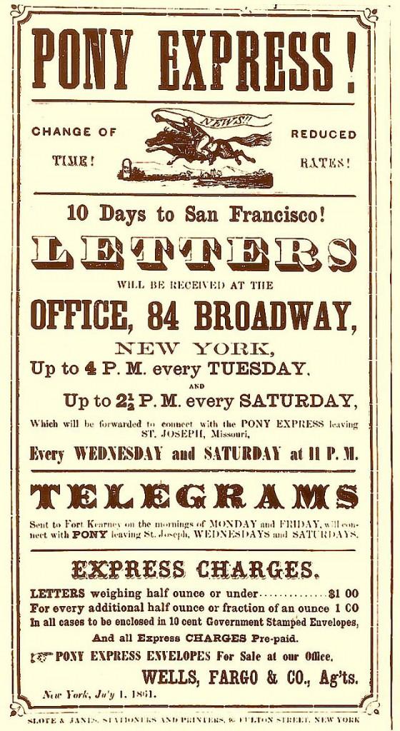 affiche de 1860