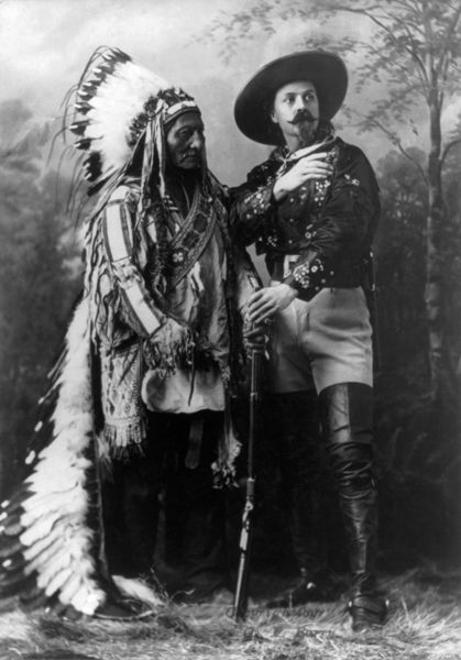 Sitting Bull et Buffalo Bill, 1885
